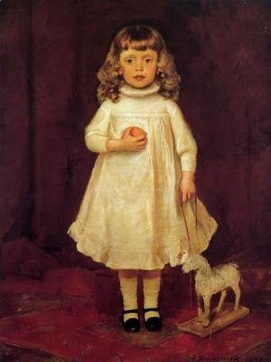 Frank Duveneck - F. B. Duveneck as a Child