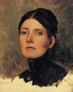 Portrait of Elizabeth Boott