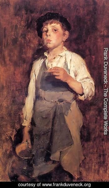 Frank Duveneck - He Lives by His Wits