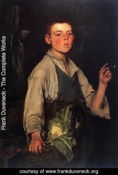 Frank Duveneck - The Cobbler's Apprentice