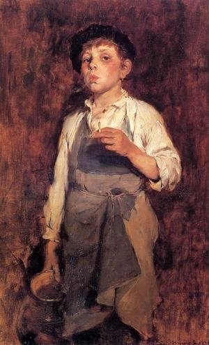 Frank Duveneck - He Lives by His Wits I