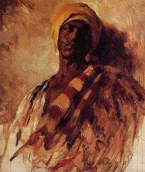 Frank Duveneck - Guard of the Harem (study) I
