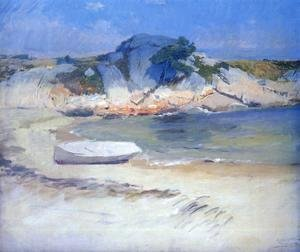 Frank Duveneck - Sheltered Cove I