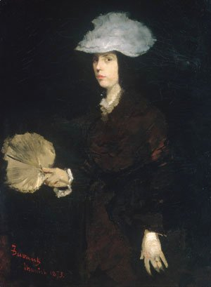 Lady with Fan 1873