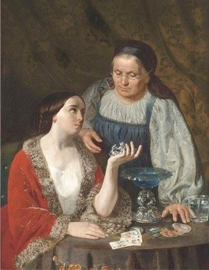 Frank Duveneck - The fortune teller