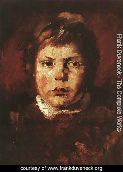 Frank Duveneck - A Child's Portrait